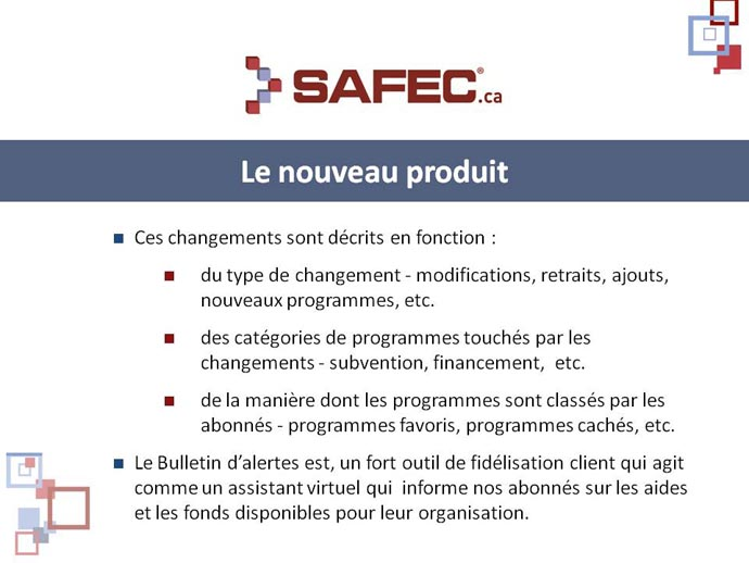 Aides et fonds disponibles